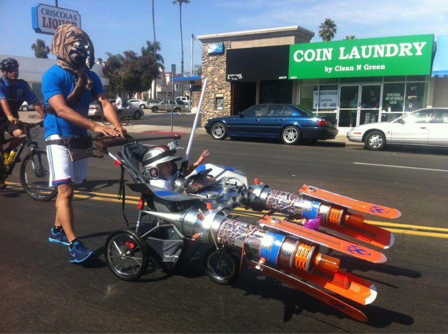 Pod Racer baby stroller - DIY