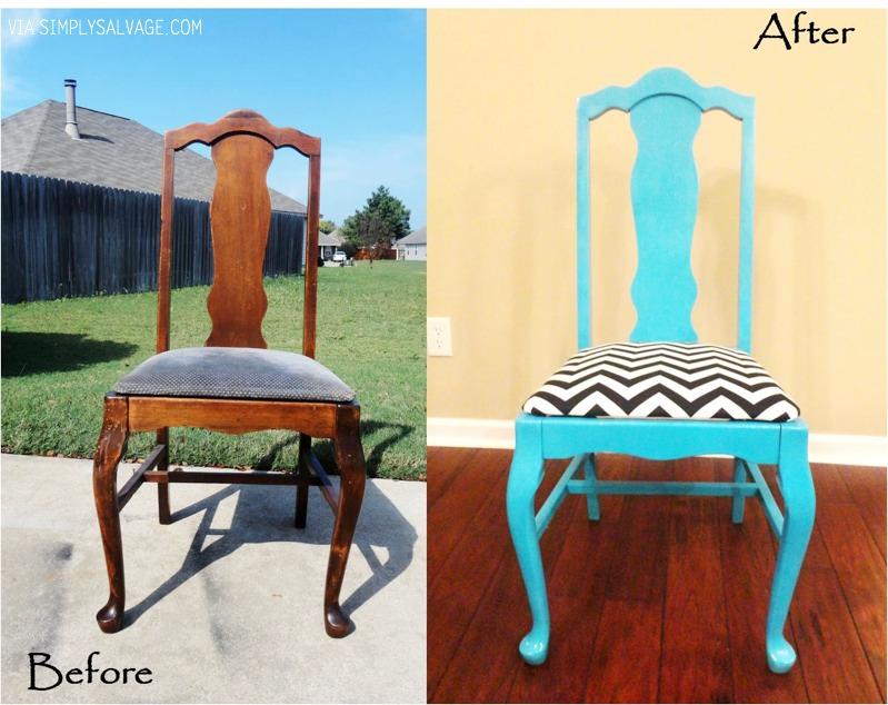 Reused and refurbished furniture