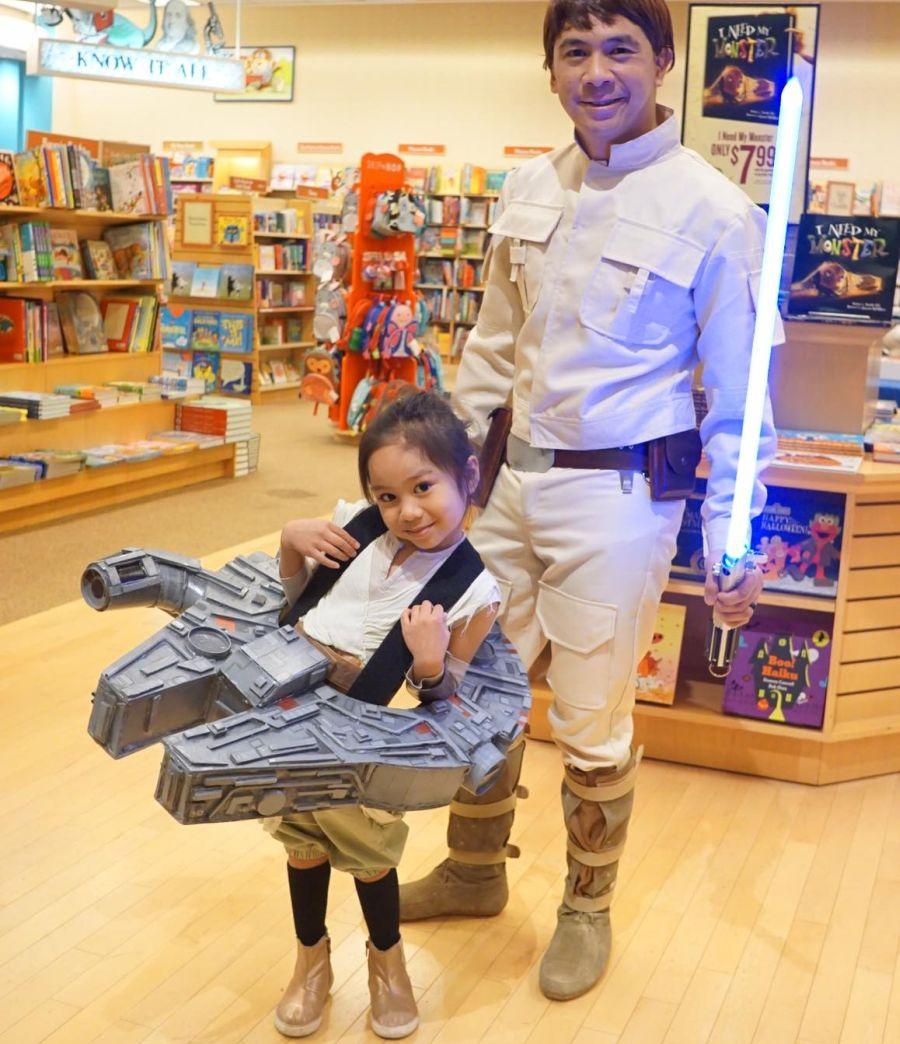 Star Wars Millennium Falcon costume