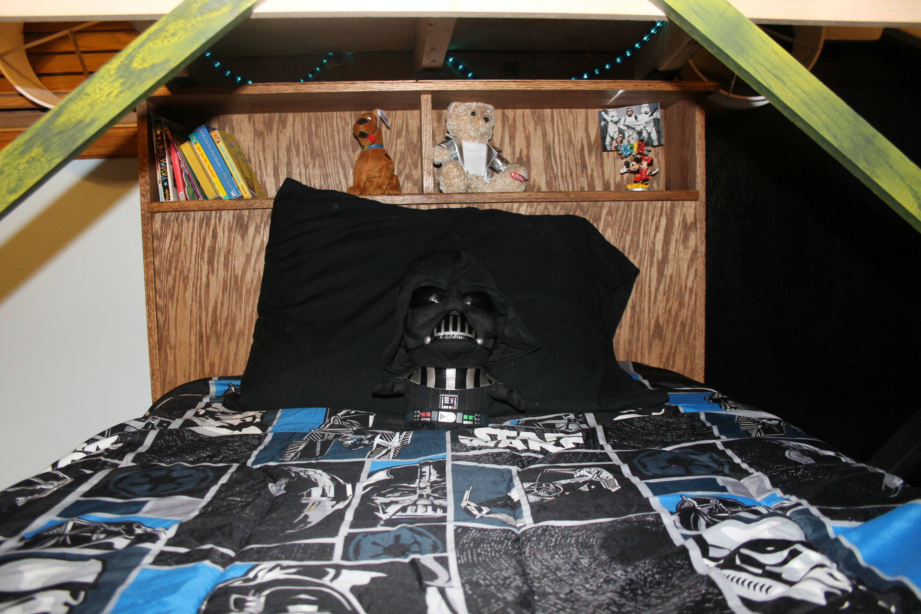 Star Wars X-Wing Bunk Bed - DIY