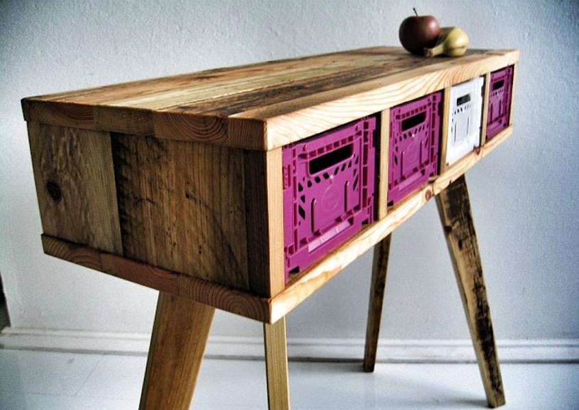 green furniture - Reclaimed wood furniture