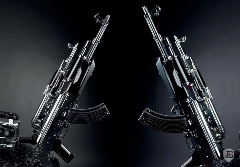 AK 47 Chair by Rainer Weber