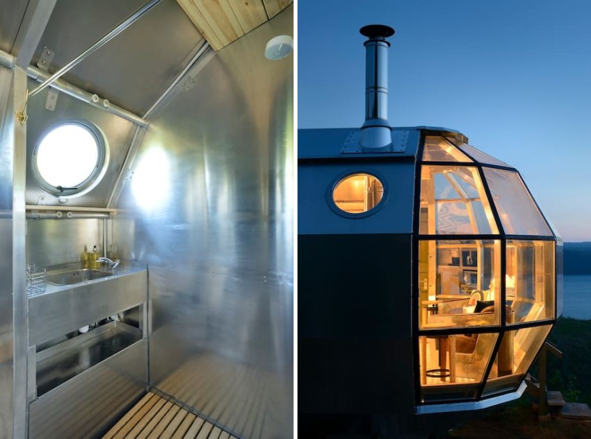 Rent A Pod >> Immerse Yourself in Submarine-Inspired AirShip 002 Pod in ...