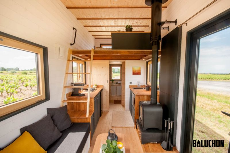 Baluchon S Intr 233 Pide Tiny House For Emilie Damien And