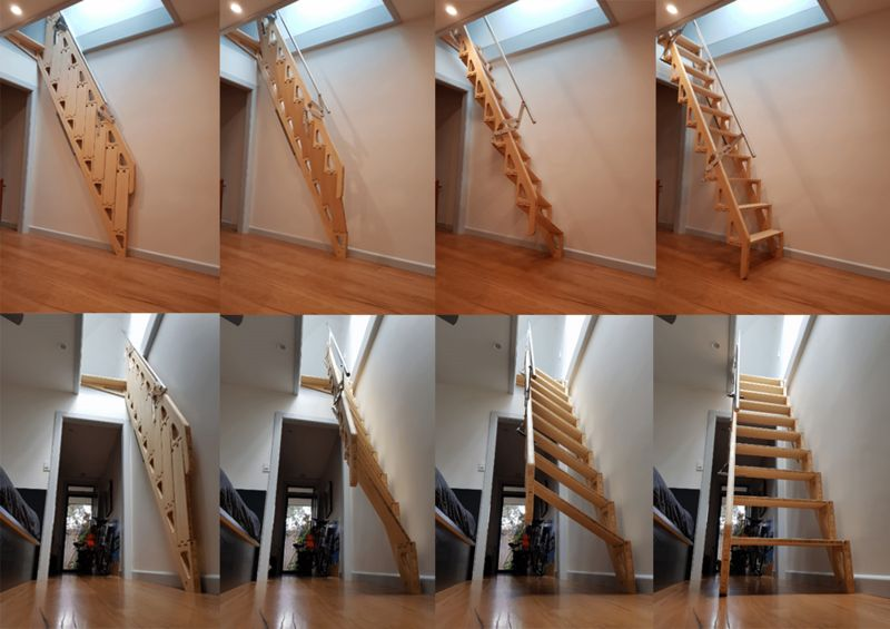 Merveilleux Bpact S Hybrid Stairs Fold Flat To Provide More Living E