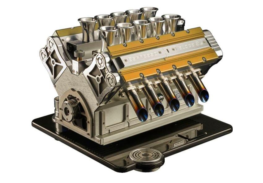 Espresso Coffee Machine V12 Engine