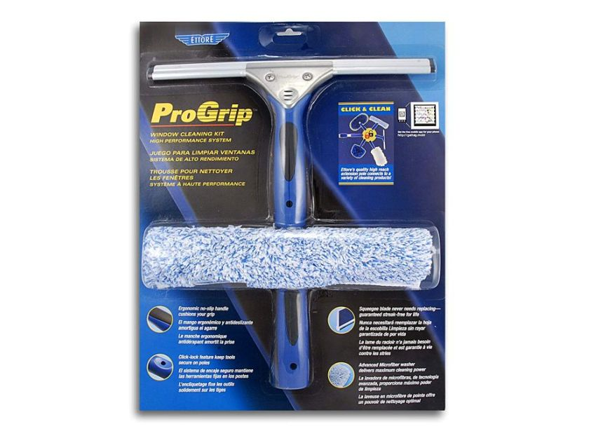 Ettore ProGrip Window Cleaning Kit