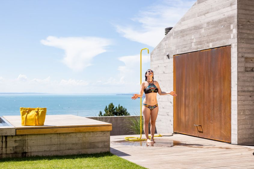Garden Outdoor Shower by Tarantik & Egger