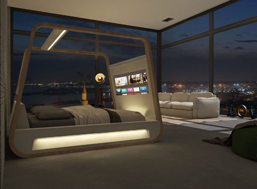 Hibed drift off to the future with this smart bed by hi - Enclosed beds for adults ...