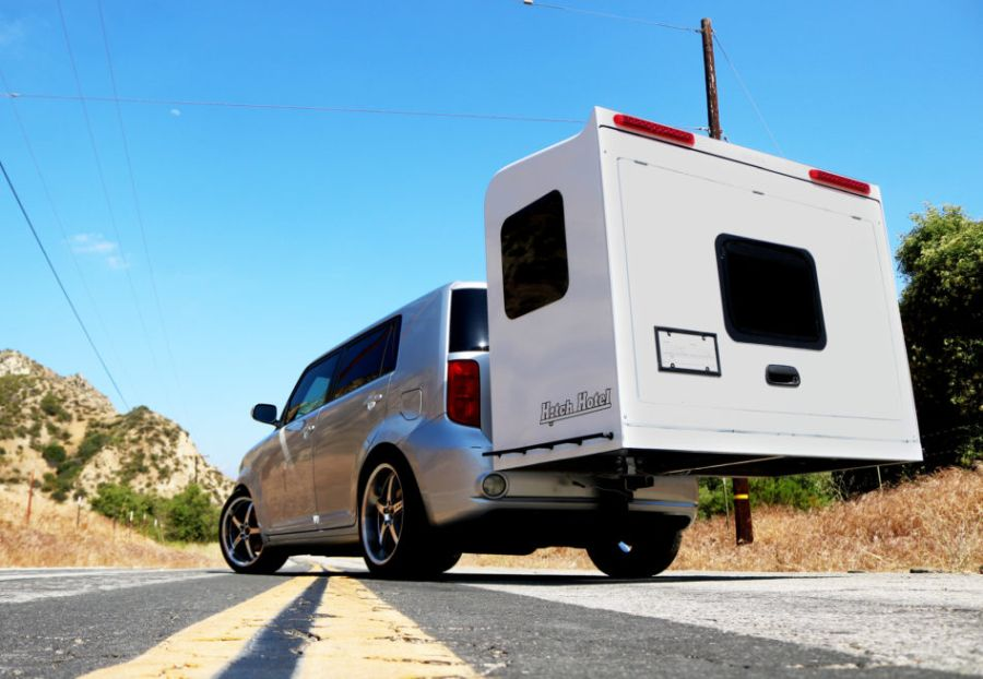 Hitch Hotel Expandable Camping Trailer