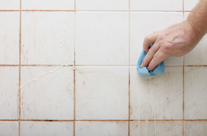 How to Clean Floor Tiles and Grout Naturally
