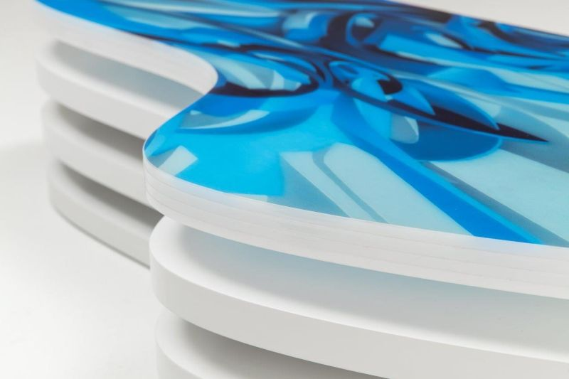 Level Waves Coffee Table by Nad Studio