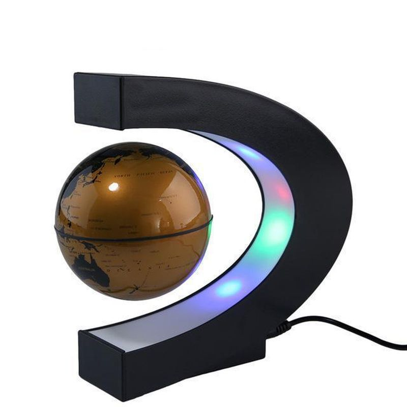 Levitating Globe with LED light from BetterForHomes