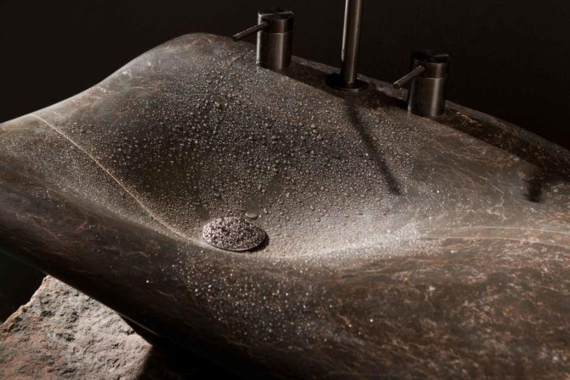 Miguel Herranz Designs Flow Stone Washbasin for Nerinea