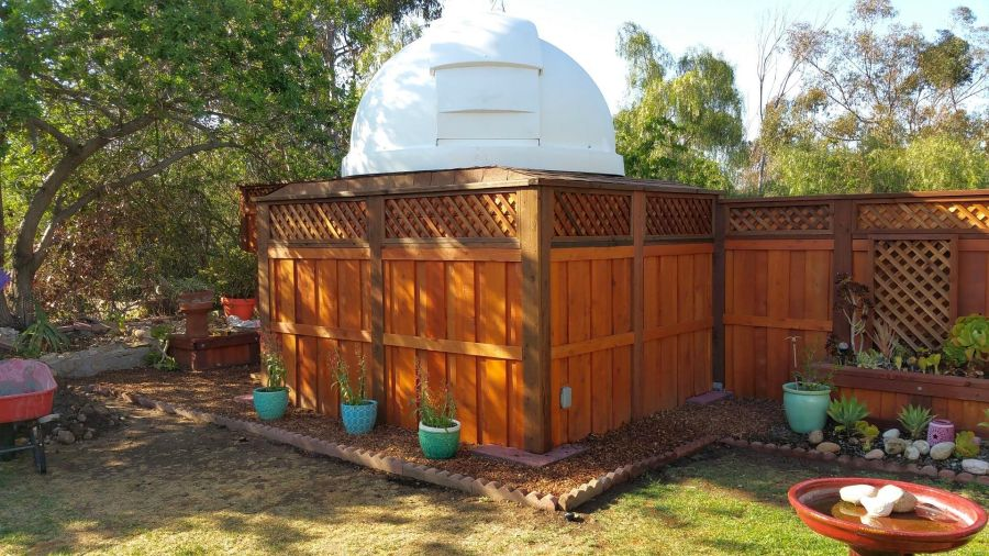 Paul Krizak Backyard Observatory San Diego