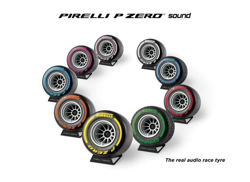 Pirelli P Zero Sound Bluetooth Speaker by iXOOST
