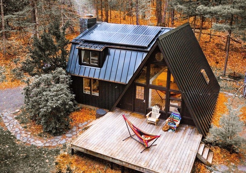 You Can Rent This A Frame Cabin In Catskills For 240 Per
