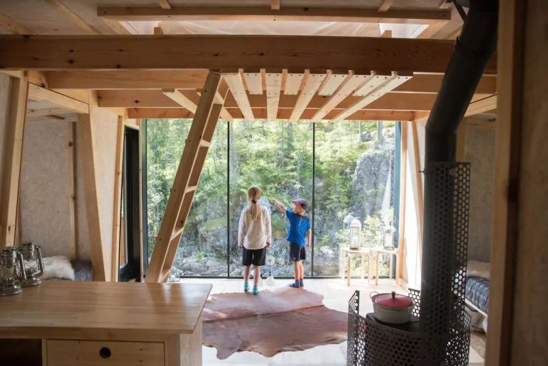 River Eye Treehouse in Norway is Ideal Weekend Getaway for Large Families - Airbnb Rental
