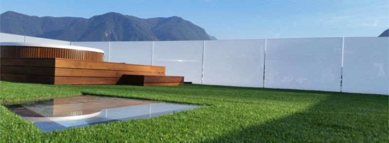 Modular Green Roof with Built-in Drainage System
