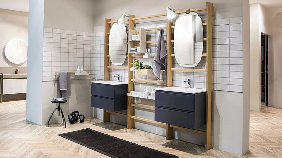 Scavolini's Gym Space Bathroom