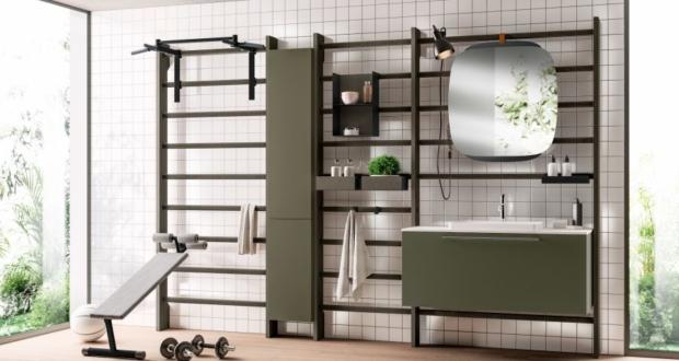 Scavolini Gym Space Bathroom by Mattia Pareschi