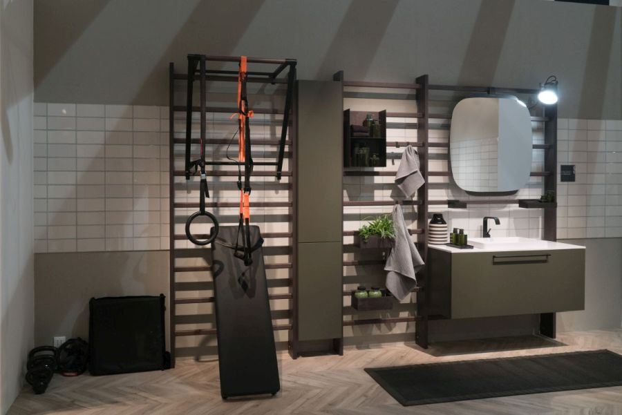 Scavolini Gym Space by Mattia Pareschi