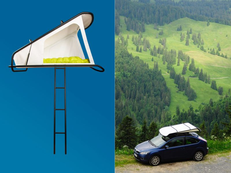 Sebastian Maluska Creates Simple, Affordable, and Lightweight Rooftop Tent