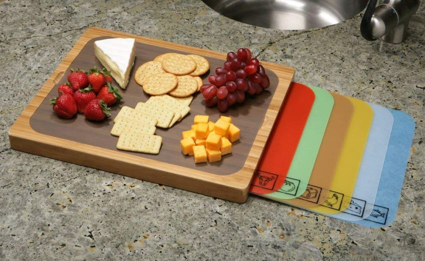 Seville Classics Bamboo Cutting Board - Gifts for boyfriend