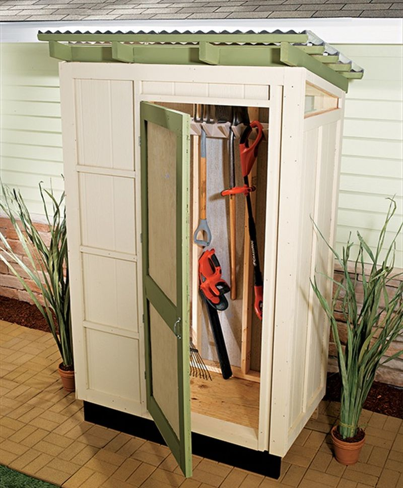 Small Outdoor Storage Shed