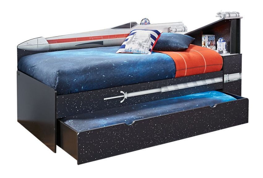 Star Wars X Wing Bookcase Bed For Your Little Jedi