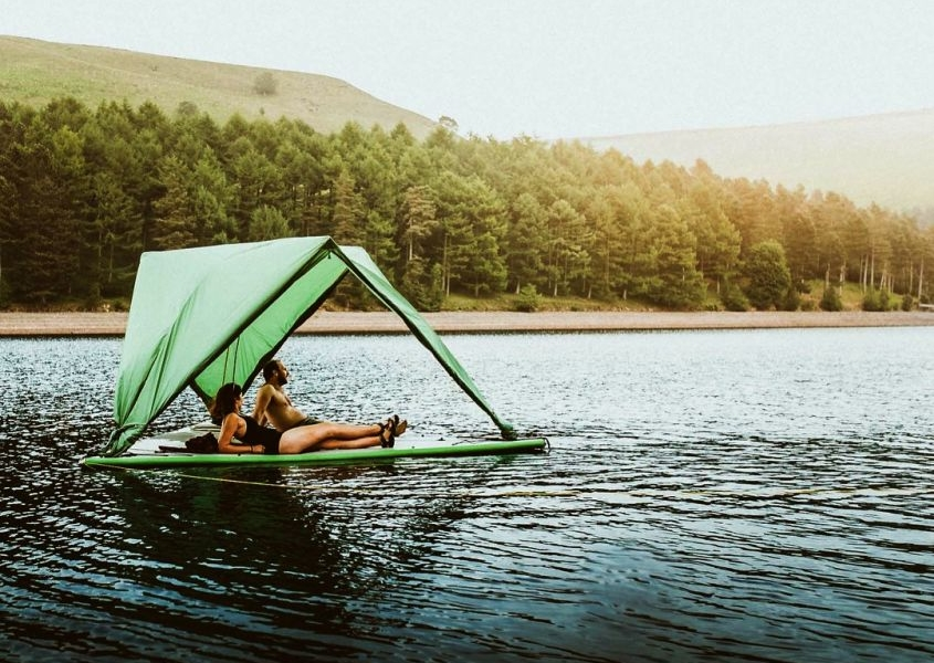 Tentsile Universe Camping Tent Pops on Land, Trees, and Water