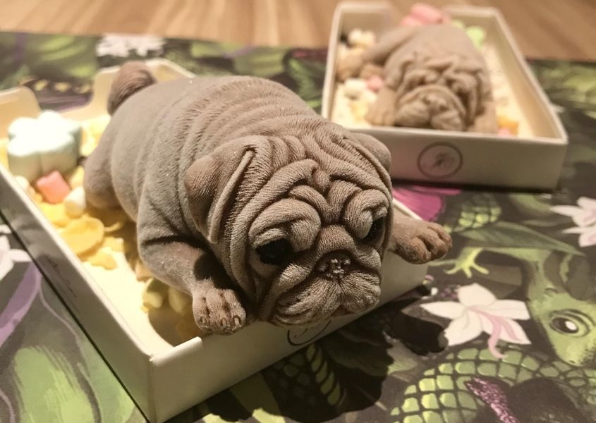 Would You Eat a Dog-Shaped Ice Cream?