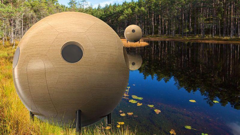 $27k Conker Garden Pod can Enhance Your Backyard