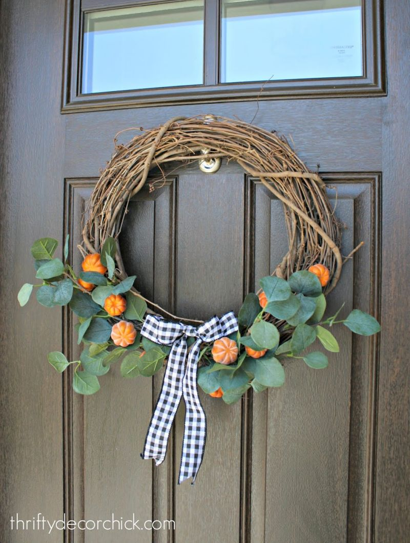 DIY Pumpkin Patch Wreath