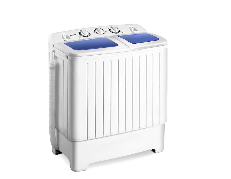 Giantex Twin-Tub Portable Washing Machine