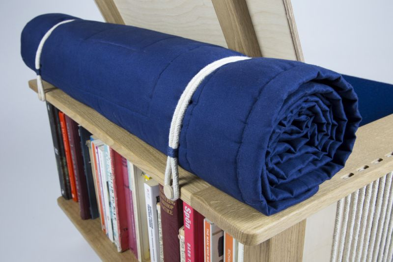 Michael Cooper's Pack Horse Lounge Chair for Lazy Readers