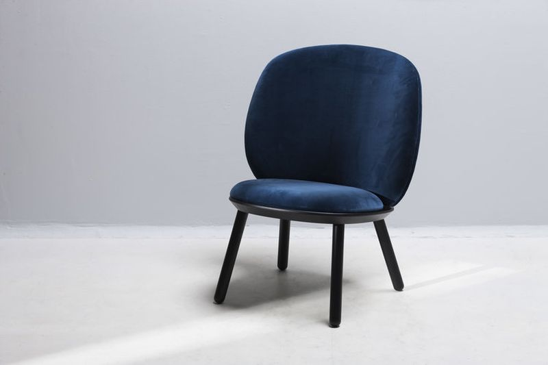 Naïve Low Chair by etc.etc. Features Ready-to-Assemble Design - Chair Design