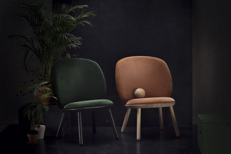 Naïve Low Chair by etc.etc. Features Ready-to-Assemble Design - Chair Design