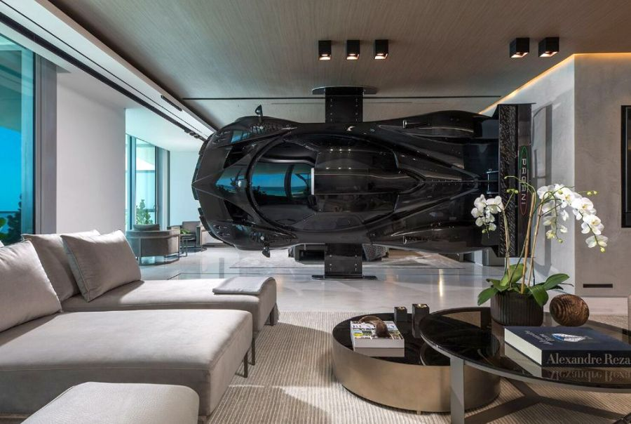 Pablo Perez Companc Pagani Zonda Room divider - Car home decor
