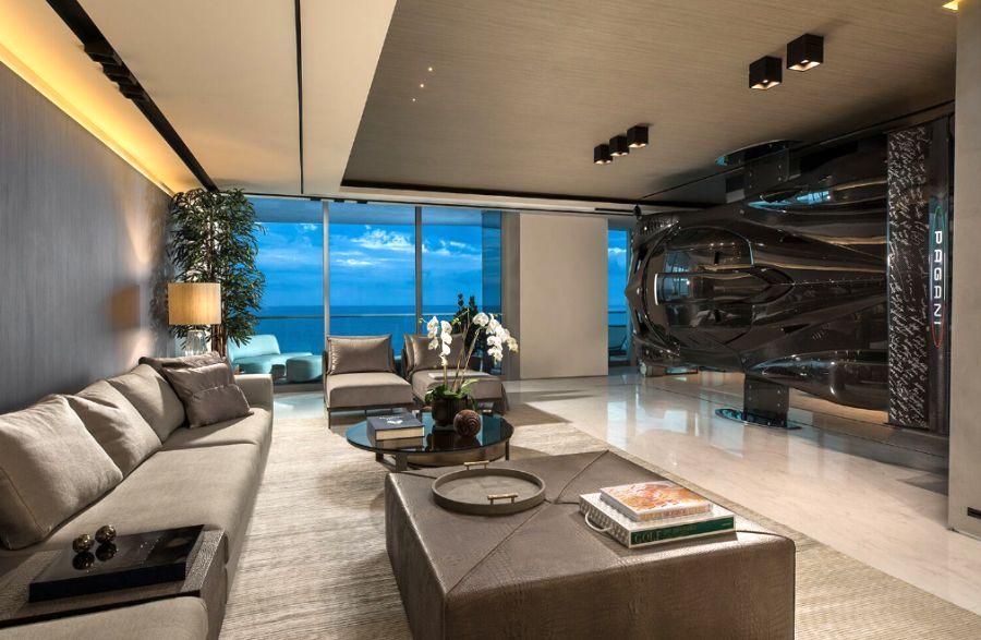 Pablo Perez Companc Pagani Zonda Room divider - Car home decor
