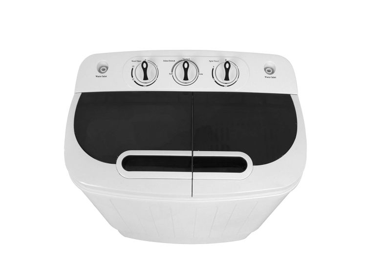 SUPER DEAL Twin-Tub Portable Washer
