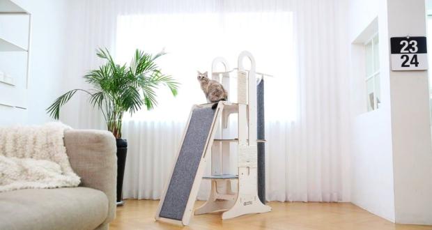Tuft + Paw Milo Cat Tower cat furniture