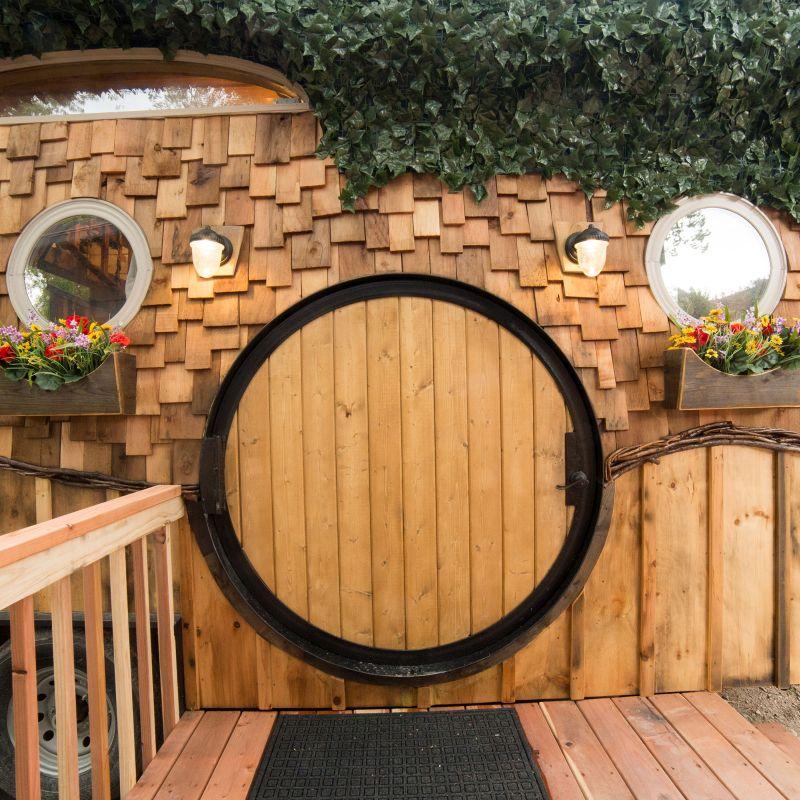 hobbit tiny house on wheels rental