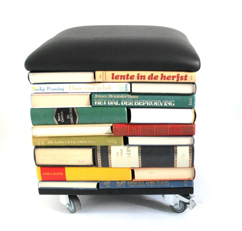 Bookpouf by Sledgecorner Lets You Sit on Books