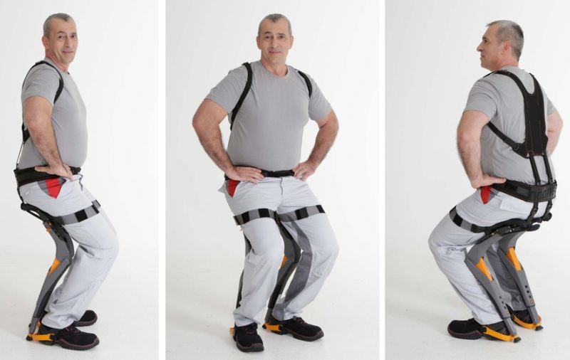 These Wearable Chairs Won't Make You Go Weak in the Knees