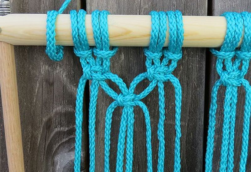 DIY Hammock You can Make with Macramé Rope