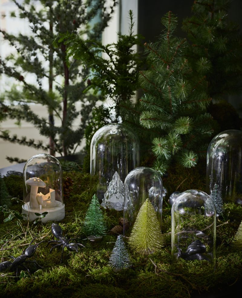 Artificial Potted Christmas Trees