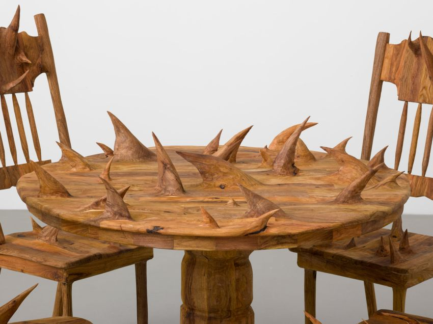 Hugh Hayden S Impractical Furniture With Protruding Spikes