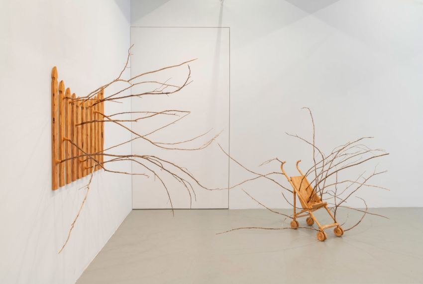 Hugh Hayden Creates Impractical Furniture with Spikes and Branches