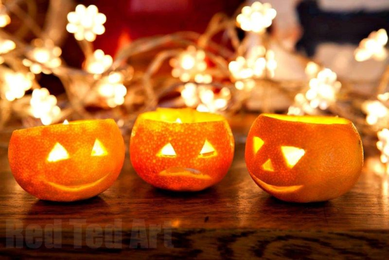 Jack o Lantern Oranges